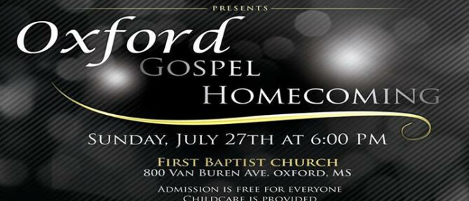 Music @ First Baptist Oxford Presents:
