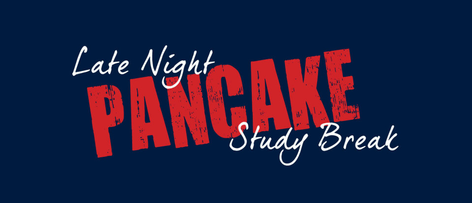 Late Night Pancake Study Break