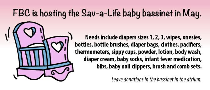 Sav-a-Life bassinet