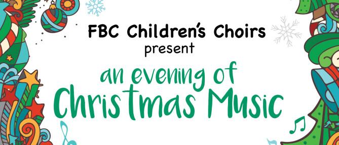 Children's Choirs Christmas program
