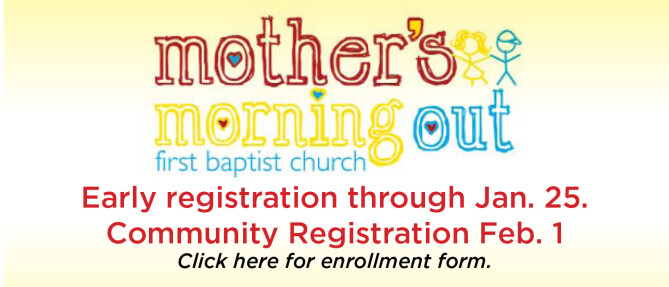 Mother's Morning Out Registration
