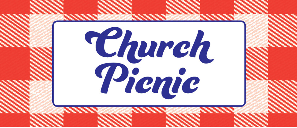 Church Picnic on the grounds