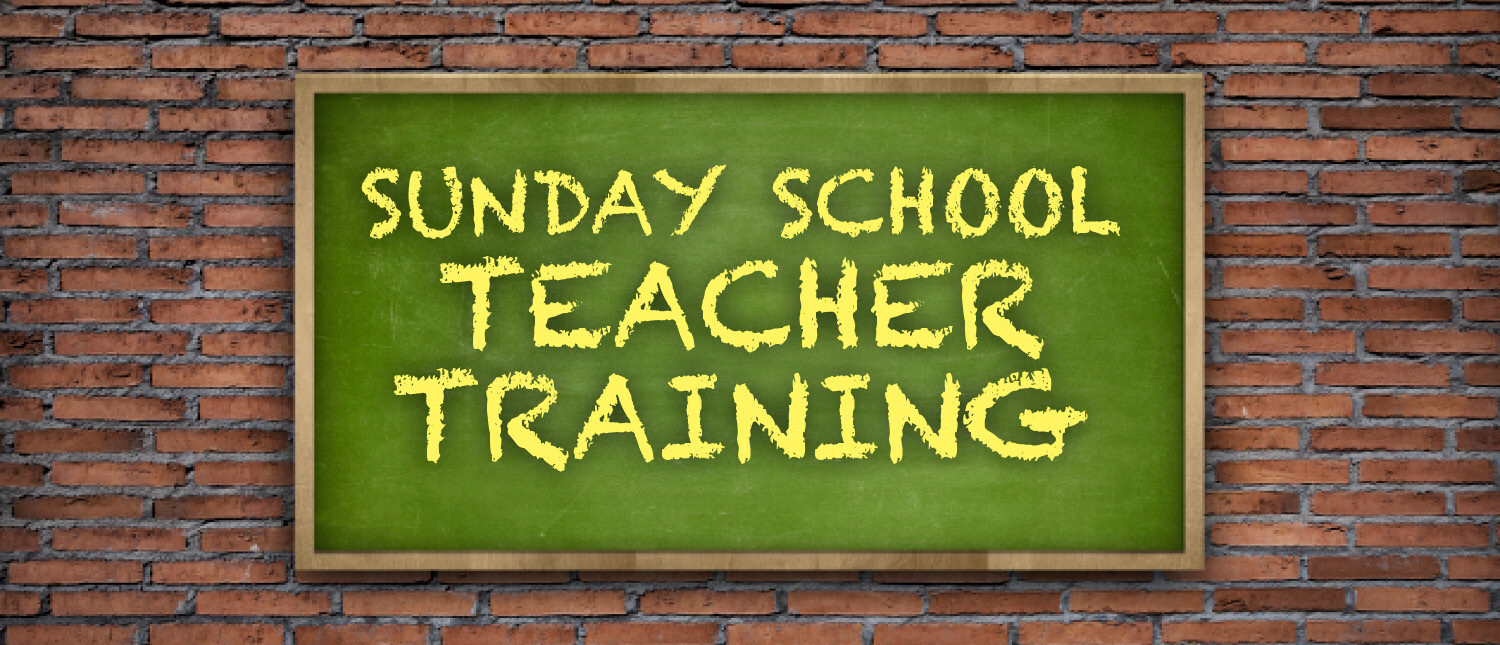 Sunday School Teacher Training